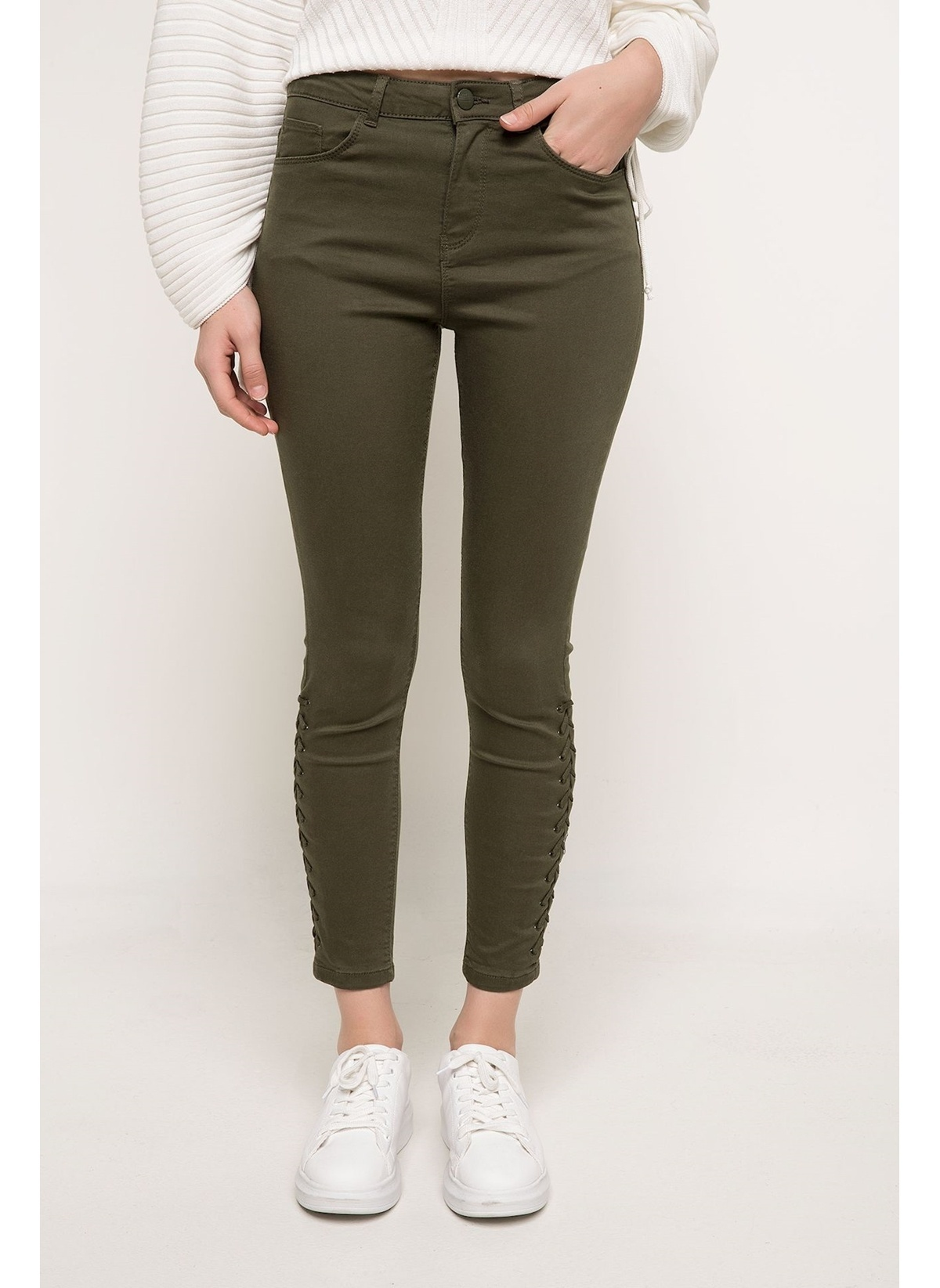 Defacto Anna Yüksek Bel Super Skinny Pantolon I0417az18spgn575pantolon – 59.99 TL